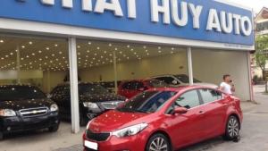 Cần bán lại xe Kia K3 1.6 AT đời 2014, giá chỉ 555 triệu
