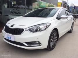 Cần bán ô tô Kia K3 2.0AT đời 2013, màu trắng, giá tốt