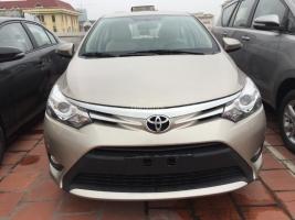 Salon Toyota Giải Phóng bán xe Vios 1.5G, full đồ mới 100%, tổng giảm giá 65 triệu, chỉ cần trả trước 140 triệu để nhận xe
