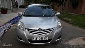 Cần bán ô tô Toyota Vios đời cuối tháng 12/2009, chính chủ, màu bạc, giá tốt