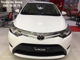 Cần bán Toyota Vios 1.5E đời 2017 giá chỉ 500tr, Toyota Vios 2017 bán trả góp vay 90%
