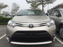 Salon Toyota Long Biên: Bán 300 xe Toyota Vios 1.5E MT năm 2017, hỗ trợ trả góp lên tới 80%