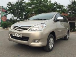 Cần bán ô Tô Cũ Toyota Innova 2.0 G đời 2011