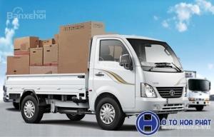 Xe tải nhập khẩu hiệu Tata Ấn Độ 1t2, bảo hành 3 năm, trả góp giá tốt
