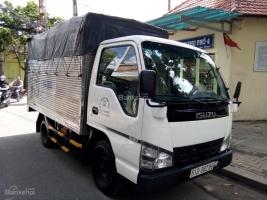 Cần bán xe tải Isuzu 1.4 tấn (kèo mui bạc). Đời 2007, màu trắng, gia đình sử dụng kỹ zin 95%