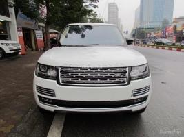 LandRover RangeRover LWB Black Edition 2015 màu trắng