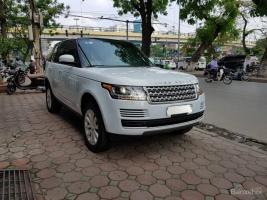 Cần bán xe LandRover Range Rover HSE sản xuất 2016 biển Hà Nội, màu trắng, nhập khẩu Mỹ. LH: 0948.256.912