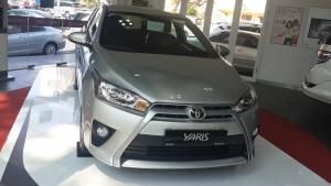 Bán xe Toyota Yaris G 2017, màu bạc, nhập khẩu nguyên chiếc, giá 630tr