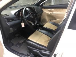 Bán Toyota Yaris E 1.3 AT 2015, màu trắng, xe nhập