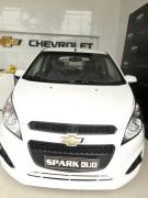 Cần bán Chevrolet Spark DUO 2017, màu trắng giá cạnh tranh