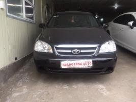 Hoanglong Auto cần bán gấp Daewoo Lacetti EX 2011, màu đen, giá 285tr
