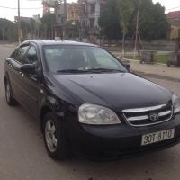 Cần bán xe Daewoo Lacetti LX 2009, màu đen