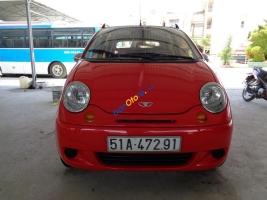 Cần bán xe Daewoo Matiz đời 2003, màu đỏ