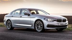 Cần bán xe BMW 5 Series 520d 2017 thế hệ thứ 7 (G30), màu bạc, xe nhập