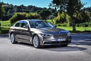 Cần bán xe BMW 5 Series (G30) 520d 2017, màu nâu, xe nhập