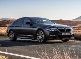 Cần bán BMW 5 Series 520d 2017 máy dầu, màu nâu, nhập khẩu chính hãng