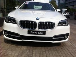 Cần bán BMW 5 Series 520i 2017, màu trắng, nhập khẩu nguyên chiếc
