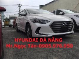Hyundai Đà Nẵng Bán ô tô Hyundai Elantra 2017, số sàn chạy dịch vụ Grap-Cưới hỏi. Liên hệ: 0905.976.950