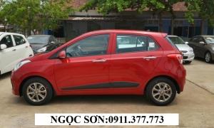 Cần bán Hyundai i10 mới 2017, màu đỏ, nhập khẩu Lhệ: Ngọc Sơn: 0911.377.773