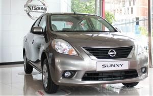 Cần bán Nissan Sunny XV SX 2017, màu nâu, 538tr