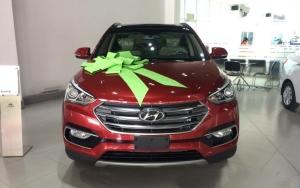 Đại Lý Lê Văn Lương - Hyundai Santa Fe năm 2017, đủ các màu, giao xe ngay, nhiều ưu đãi, LH: 0964898932
