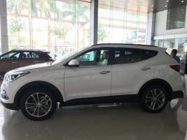 Bán ô tô Hyundai Santa Fe ĐẶC BIỆT đời 2017, màu trắng,bạc , đen , vàng cát