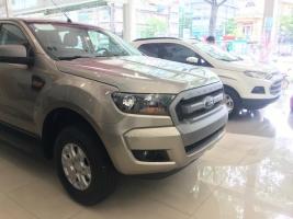 Cần bán Ford Ranger XLS MT đời 2017, màu vàng, nhập khẩu nguyên chiếc