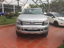 Cần bán lại xe Ford Ranger XLS đời 2013, màu bạc, xe nhập, giá tốt
