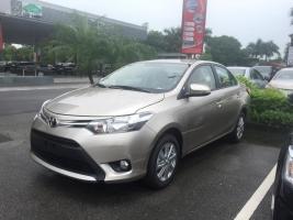 Toyota Long Biên bán Vios E CVT 2017, cam kết giá tốt nhất, giao ngay. Hotline: 097.141.3456