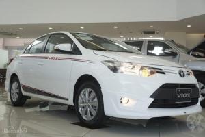 Bán xe Toyota Vios 1.5G 2017 số tự động vô cấp CVT, giá cực tốt, kèm ưu đãi lớn nhất trong năm tại Toyota Bến Thành