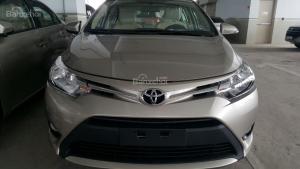 Xe Toyota Vios 1.5 E CVT ưu đãi cực tốt năm 2017 tại Toyota Bến Thành, giao xe ngay