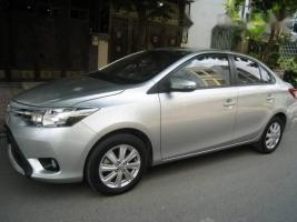 Bán Toyota Vios đời 2015, màu bạc ít sử dụng, 511tr