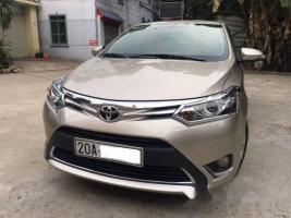 Cần bán gấp Toyota Vios đời 2015 số tự động giá cạnh tranh
