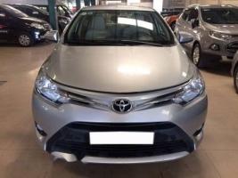 Bán xe Toyota Vios E đời 2015, màu bạc