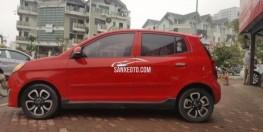 Kia Morning slx màu đỏ 2010