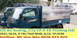 Showroom AN SƯƠNG bán xe tải Kia Frontier k165S 2.4 tấn vào được thành phố, hỗ trợ tư vấn ngân hàng trả góp