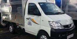 Xe tải Thaco Towner tải 990kg,động cơ phun xăng của Suzuki, bảo hành 2 năm