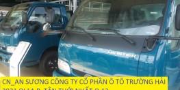 xe tải k3000 frontier k165 tải trọng 2 tấn 4, xe tải 2400kg