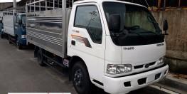Xe tải kia 2,4 tấn thùng bạt đóng mới từ chassi, new 2017
