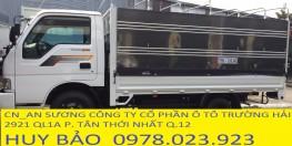 Xe tải 2,4 tấn vô thành phố kia thaco, xe tải k165 tải trọng cao 2400kg ...