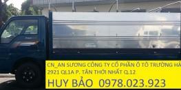 Xe thaco tải k165 thùng kín tải 2,4 tấn
