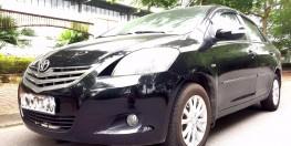 Bán xe Toyota Vios E 2010 màu đen, đời 2010, chính chủ HN 292tr.