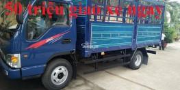 Đại lý bán xe tải Jac 2.4 tấn - bán xe tải Jac 2 tấn 4 thùng bạt trả góp lãi thấp