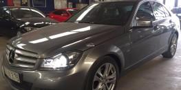 Bán xe Mer_C200_Blue_Efficiency màu bạc, sản xuất 2012, đăng ký 06/2013, Odo 36.000 km giá 435tr