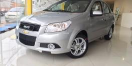 Chevrolet Aveo LT mới, hỗ trợ vay 80% - 100%, giảm 40tr, bảo hành 3 năm, LH Nhung 0975.768.960