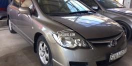 Bán xe Honda Civic 1.8  đời 2007 màu bạc Odo 48.000km tại thành phố Hồ Chí Minh giá 380tr