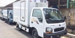 Xe tải kia k190 thùng đông lạnh, tải trọng 1490kg, chạy thành phố
