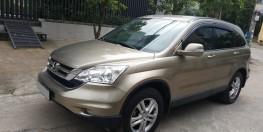 Tôi bán xe Honda CRV màu nâu vàng số tự động 2011 nhà đi giữ như mới.