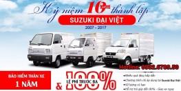 Xe tải Suzuki Carry Truck 500kg - 650kg - tặng 100% Trước Bạ + Bảo Hiểm