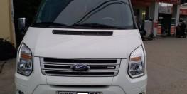 Bán Gấp Xe Ford Transit DCar Limousine President VIP 10 Chỗ mầu trắng